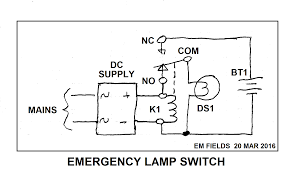 emergency lights when power goes out voltage making emergency lighting normal supply and power failure