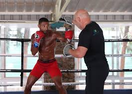 spence training in khan u0027s gym for brook fight