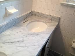 White Carrera Marble Bathroom - kitchen distinctive styling carrera marble countertops