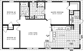 215 Square Feet The Tnr 3411b Manufactured Home Floor Plan Jacobsen Homes