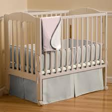 Mini Portable Crib Bedding Light Pink Linen Portable Crib Bedding Carousel Designs