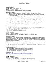 Php Developer Resume Android Developer Resume Android Application Developer Job