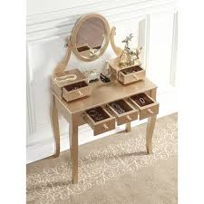 Vanity And Stool Set Ashley Wood Makeup Vanity Table And Stool Set Free Shipping