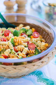 easy cold pasta salad easy pasta salad with zesty italian dressing saving room for dessert