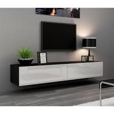 Black Corner Tv Cabinet With Doors Top 50 Black Tv Cabinets With Doors Tv Stand Ideas