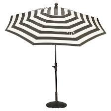 White Patio Umbrella Outdoor Blue And White Striped Patio Umbrella Striped Outdoor
