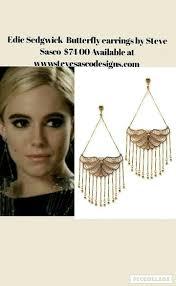 edie sedgwick earrings 140 best edie sedgwick jewelry by steve sasco images on