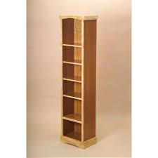 Modern Bookcases Wood Bookcase Narrow Thesecretconsul Com