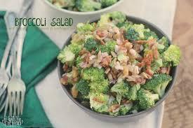 bacon sunflower seeds broccoli salad with bacon golden raisins sunflower seeds all