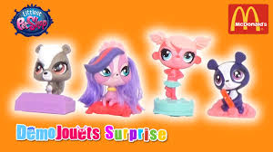 cuisine mcdonald jouet littlest pet shop mc donalds meal 2016 demo jouets