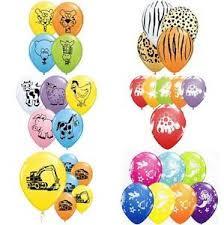 qualatex balloons qualatex balloons 11 jungle farm animals dinosaurs safari
