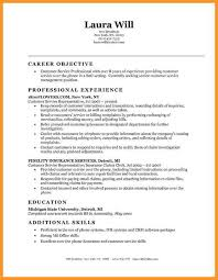 9 resume objectives customer service bird drawing easy