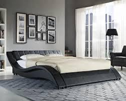King Size Leather Bed Frame Build A King Size Platform Bed Tags Bed Design Bed Frame