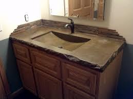 Bathroom Counter Top Ideas Bathroom Vanity Polished Concrete Bathroom Vanity Bathroom
