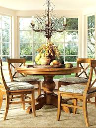 pottery barn dining room tables pottery barn round dining table nomobveto org