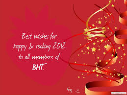 wish you all the best merry merry happy