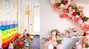 Home Decoration Birthday Party Remarkable House Decoration For Birthday Party 57 On Home Design