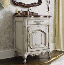 Vanity Company A Selection Of Bathroom Vanities With Weathered Finishes Is