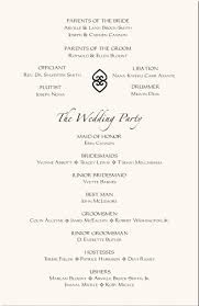 wedding program layouts simple wedding program template template design