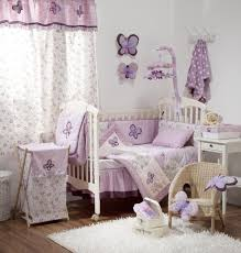 Purple Nursery Bedding Sets Bedroom Fabulous Purple Baby Bedding Set Ideas With