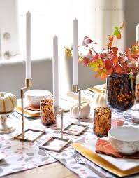 rustic dinner table settings elegant dining table centerpieces fall themed table decorations