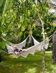 Backyard Hammock Ideas by Anderson Cooper Celebrity Homes Vacation House