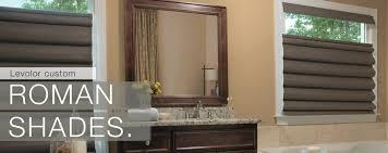 Roman Shades For Bathroom Cordless Roman Shades Top Down Bottom Up Roman Shades And Day