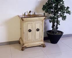 Antique White Vanity Bathroom Small Vanity Bathroom 1