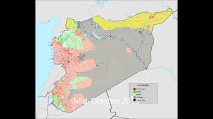 World Map Syria syrian civil war map timeline june 2015 february 2016 youtube