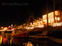 spot lighting long beach my favorite christmas tradition a boat ride through naples the v