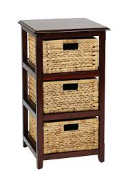 amazon com office star seabrook 4 tier storage unit with natural