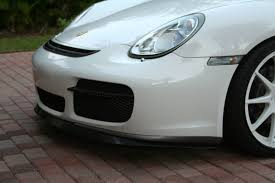 new front splitter spoiler for 987