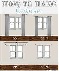home design tips and tricks thursday s tips tricks how to hang curtains hang curtains