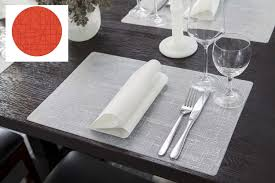 grossiste vaisselle de table set de table silicone fabricant