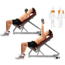 Incline Dumbell Bench Press 3 Exercises To Build A Complete Chest