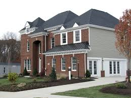 Heartland Luxury Homes by Large Luxurious Brick Front Home The Monterey Myoma Woods