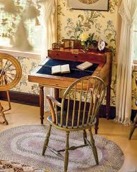 Pine Secretary Desk by History Of The Desk Old House Restoration Products U0026 Decorating