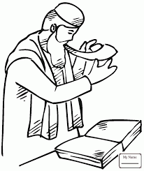 kids shofar coloring pages for kids rosh hashanah boy with shofar on rosh