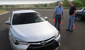 toyota car garage jay leno drag races tim allen in an 850 horsepower toyota camry