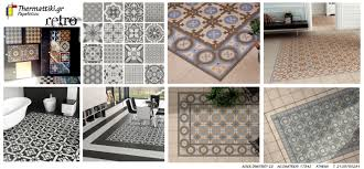 Retro Flooring by Retro Vintage Pattern U201dspanish Tiles U201dfor Floors U0026 Walls U2026now In