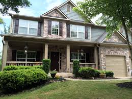 newly painted sherwin williams thunderous exterior tavern taupe