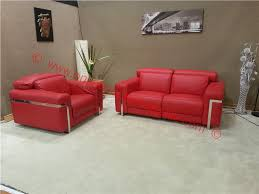 Scs Armchairs Scs Bocelli Red 2 1 Seater Power Reclining Full Italian Leather