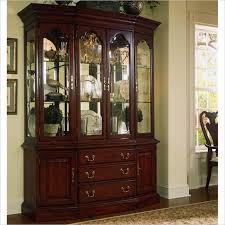 Dining Room Sets With China Cabinet Henredon China Cabinet Breakfront Mahogany Dining Room Set China