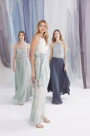Light Gray Bridesmaid Dress Easy Mix And Match Bridesmaid Dress Ideas From Bhldn Dress For