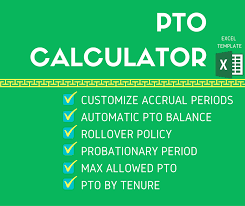 free upgrade employee pto calculator u0026 vacation tracker template