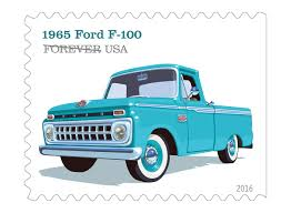 Classic Chevy Trucks 1965 - us postal service honors classic detroit pickups in new stamp