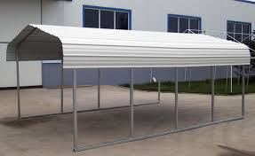 Steel Car Port Rhino Shelter Steel Carport 12x20x8 Free Shipping