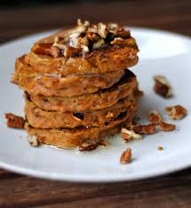carrot cake pancakes with brown butter and pecans low sugar fat
