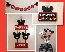 mickey mouse birthday decorations i mickey with