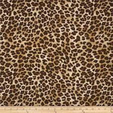 leopard fabric premier prints amazon leopard sand discount designer fabric